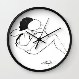 Lover's Series #58 Wall Clock