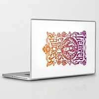 camus Laptop & iPad Skins featuring Hell Is Other People by mrdblack