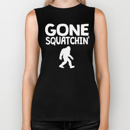 Gone Squatchin' Biker Tank