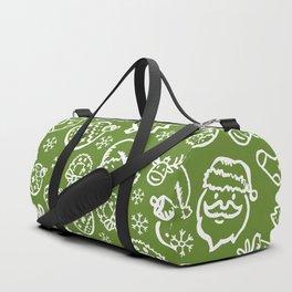 XMAS Green Pattern / Part One Duffle Bag