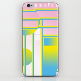 Blue & Yellow ƒü†ure iPhone Skin