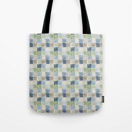 Jungle Set | hand illustrated quilt pattern Tote Bag