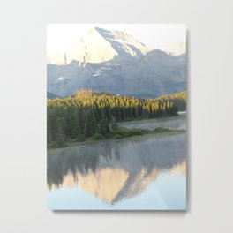 Swiftcurrent Lake, Glacier National Park - Montana Metal Print