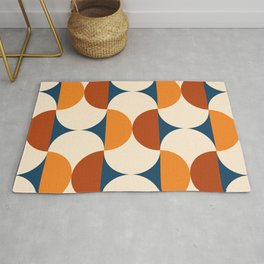 60s Beans Pattern Rug