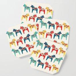 Swedish Horses Coaster