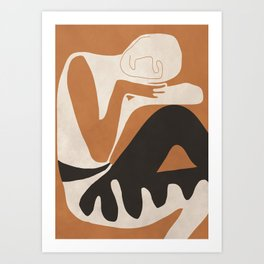 Abstract Art Figure Art Print