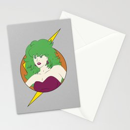 Eighties Samus / Outrageous Hunter / Samus and the Wave Beams Stationery Cards