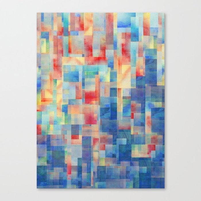 Long Division (Torrent Remix) Canvas Print
