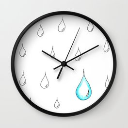 Emphasis by Contrast Wall Clock