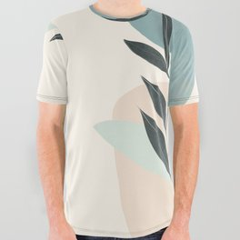 Azzurro Shapes No.53 All Over Graphic Tee