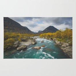 Vistasjokka - Arctic Sweden Rug