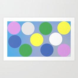 Round Like A Circle Art Print