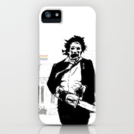 Leatherface protector of the queer iPhone Case