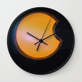 Total Moon Eclipse Wall Clock