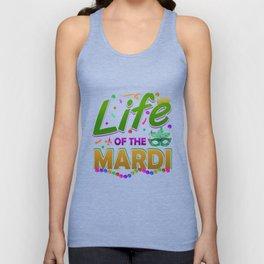 Mardi Gras Parade 2019 Beads Party Shirt Gift Idea Light Unisex Tank Top