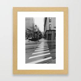 Commercial Approach Framed Art Print