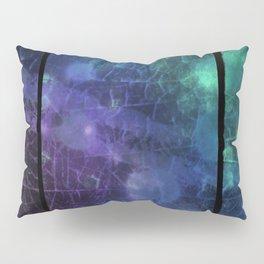 Purple,  Green and Blue Pillow Sham