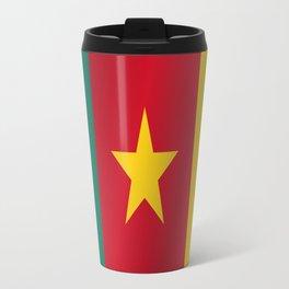Flag of Cameroon Travel Mug