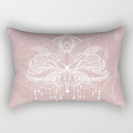 Blush mandala Rectangular Pillow