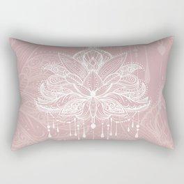 Blush mandala Rectangular Pillow