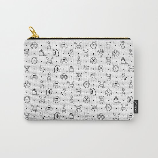 Monster Cuties Carry-All Pouch