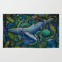 Whale Ocean Rug