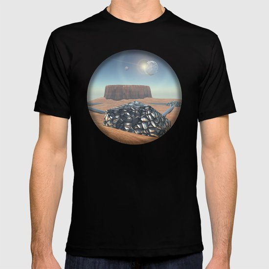 Mars Babylon Colony, view of Armageddon  T-shirt