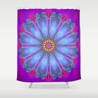 destiny Shower Curtains featuring Destiny by Jellyfishtimes