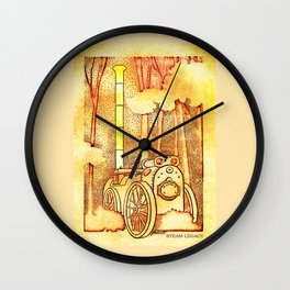 Steam Legacy Wall Clock