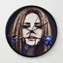 L. D. R. Outcast Wall Clock