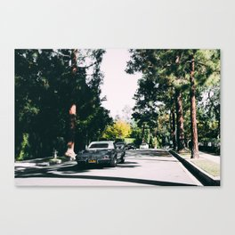 Los Angeles street Canvas Print