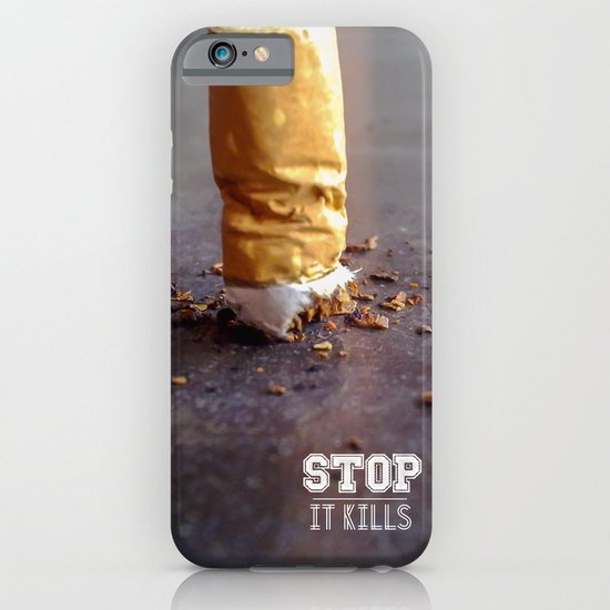 Smoking Kills iPhone & iPod Case