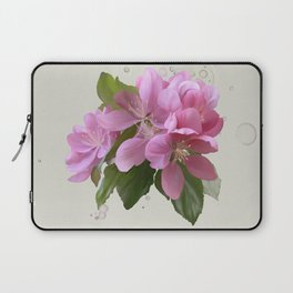 Pink blossoms Laptop Sleeve