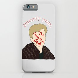 The Breakfast Club - Brian iPhone Case