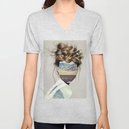 Haircut 1 Unisex V-Neck