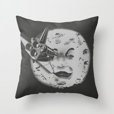 Méliès's moon: Times are changing. Throw Pillow