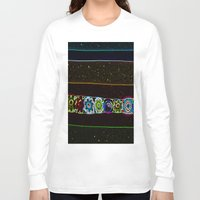 starry night Long Sleeve T-shirts featuring Starry Starry Night by Lior Blum