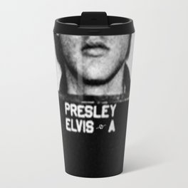 Elvis Presley Mug Shot Vertical 1 Travel Mug