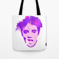 elvis Tote Bags featuring ELVIS by BIG Colours