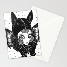 Bat Girl Stationery Cards