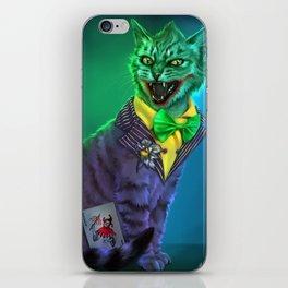 Meow so serious??? iPhone Skin