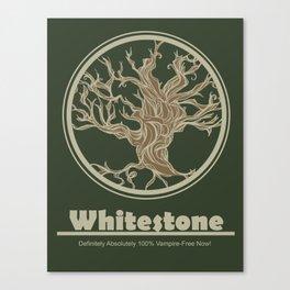 Whitestone Canvas Print