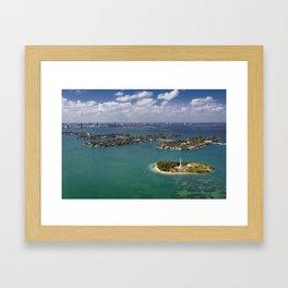 Flagler Memorial Island  Framed Art Print