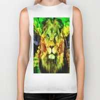 rasta Biker Tanks featuring Rasta  by gypsykissphotography