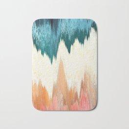 Pixel Sorting 55 Bath Mat