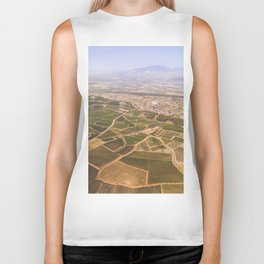 Vineyards from above Biker Tank