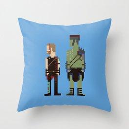 Friends From Work Throw Pillow