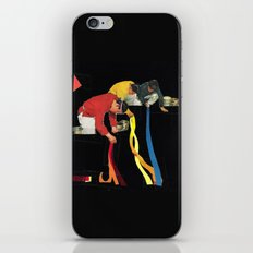 Painting Floors iPhone & iPod Skin