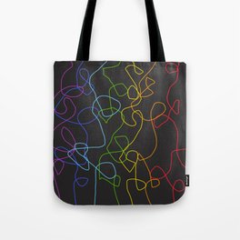Crooked Lines #2 Tote Bag