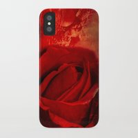 passion iPhone & iPod Cases featuring Passion by Loredana:Flowers